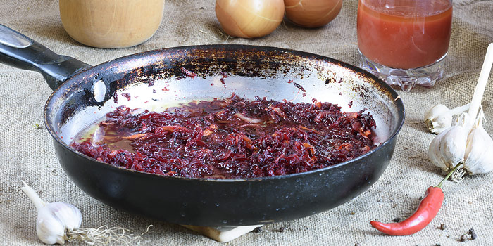Beets And Caramelized Onions With Feta Recipe