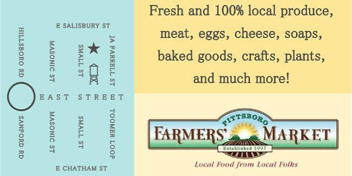 Pittsboro Farmers Market Logo And Information