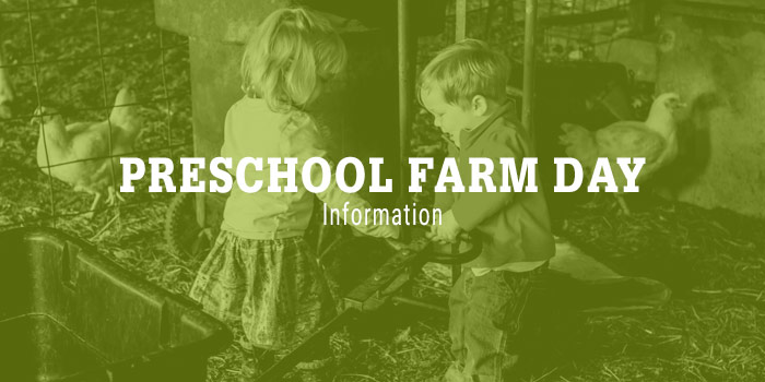 Preschool Farm Day: Old McDonald Had A Farm