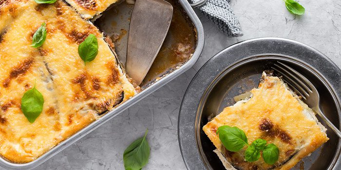 Moussaka Cottage Pie