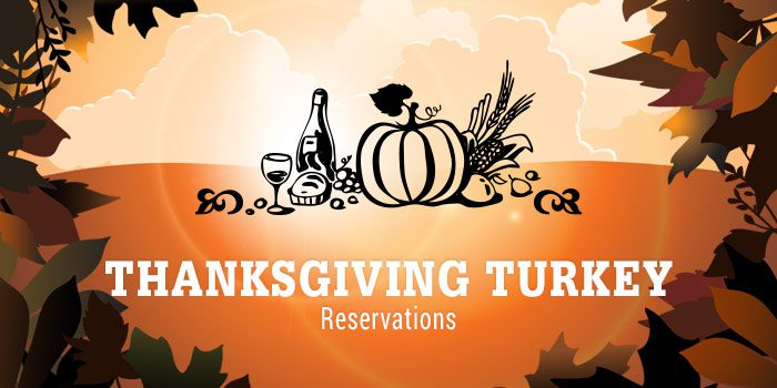 Thanksgiving Turkey Reservations/Lamb/CSA Information