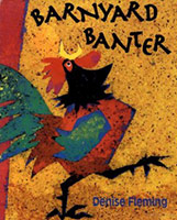Barnyard Banter Cover showing rooster