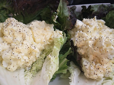 Classic Egg Salad on bed of lettuce