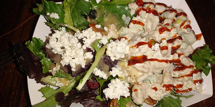 Chicken Salad With Salad Greens